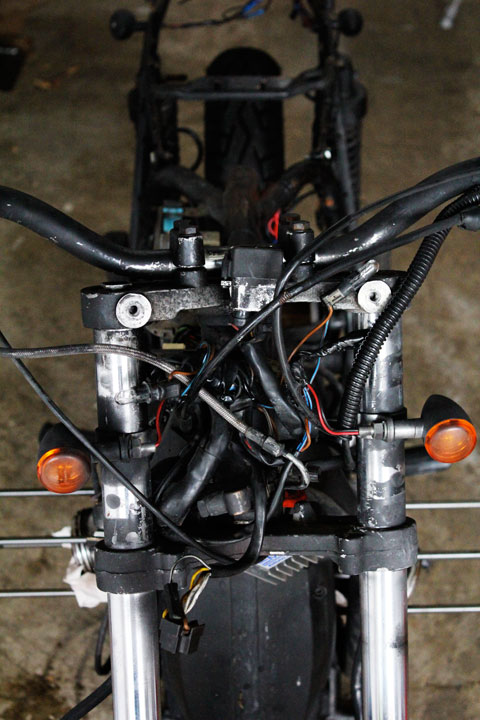 wiring harness cafe matty rh cafematty com BMW Battery Wiring Harness bmw r100/7 wiring harness