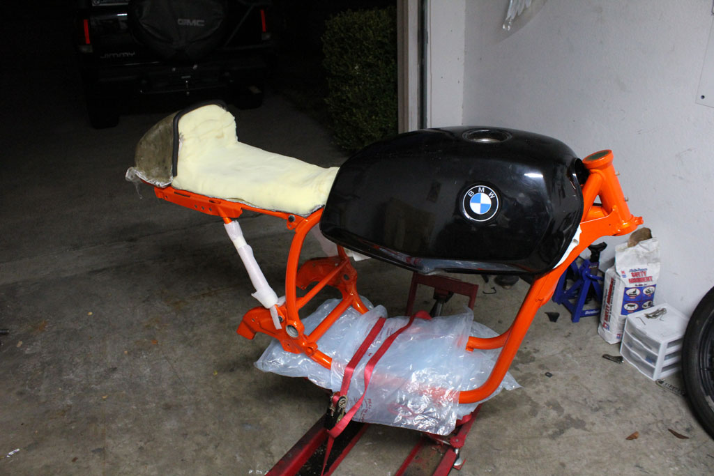 Airhead Cafe Racer 81 Bmw R65 Few New Pics