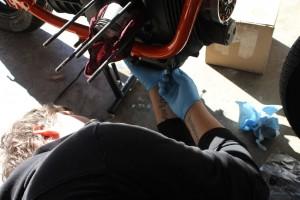 Installing R65 Oil Pan