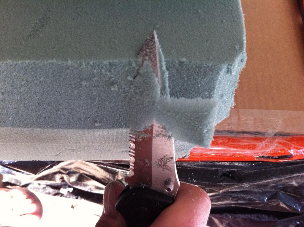 Foam Blocks Cafe Racer Seat