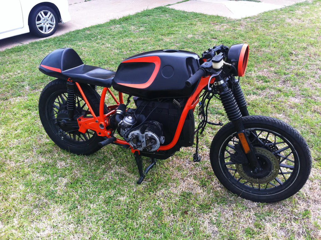 pretty - Motorcycle Frame Paint