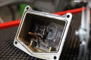 Dirty Motorcycle Carburetor