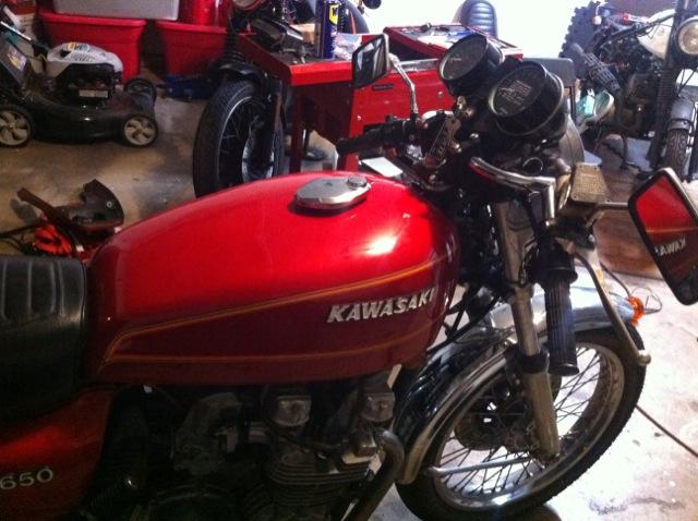 KZ650 Cafe Racer