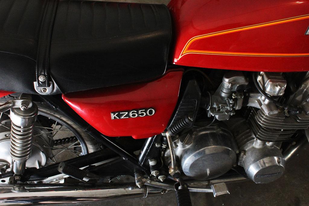 Kawasaki KZ650 Cafe Project